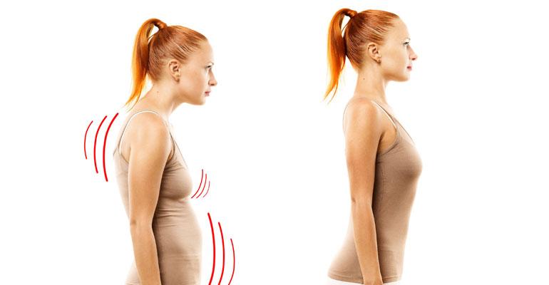 7 consigli per migliorare la postura scorretta