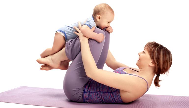 pilates mamma baby